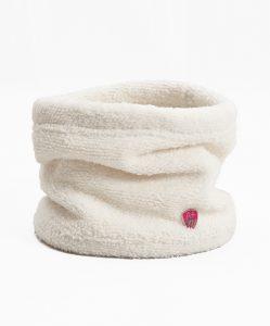cuellera blanca rosa